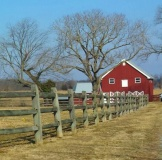 Red Barn on the Eastern Shore